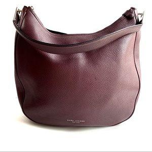 Marc Jacobs Pike Place Leather Hobo Purple purse